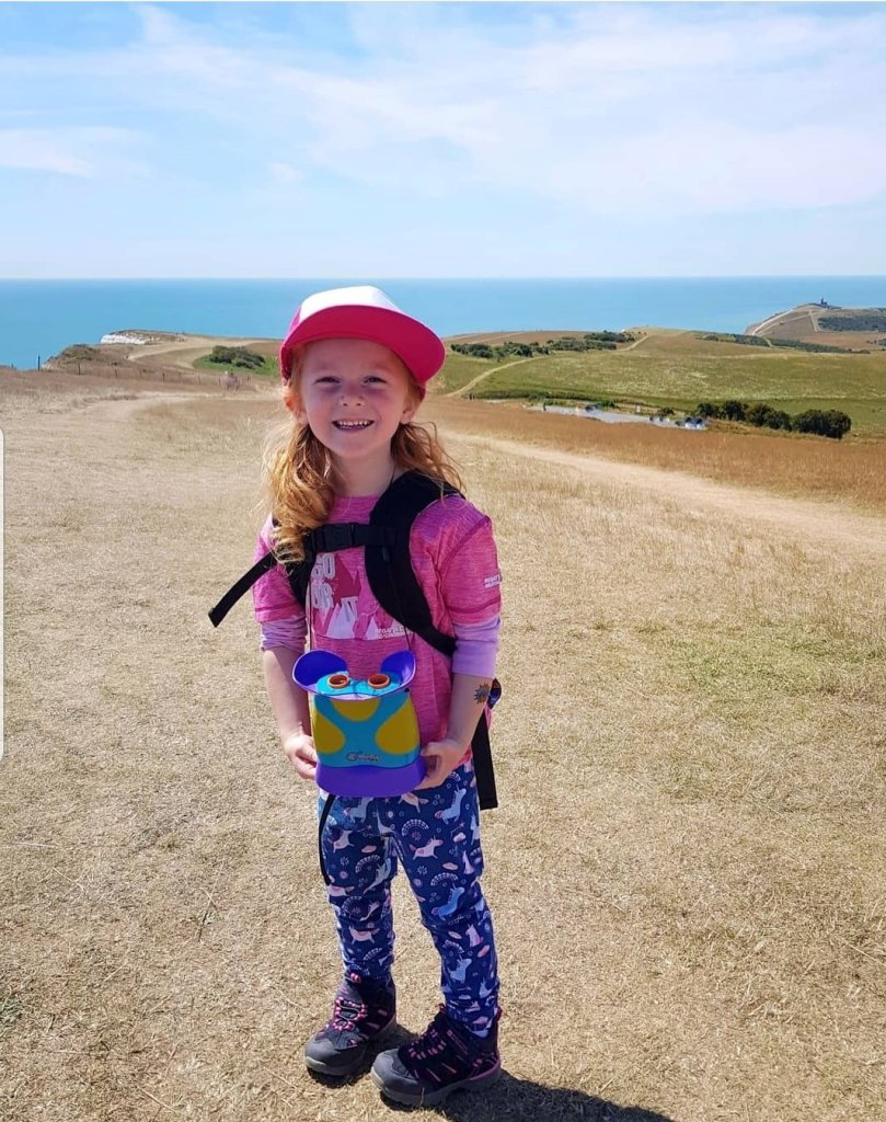 Kidnoculars are great to keep little legs motivated on long adventures - summer 2020