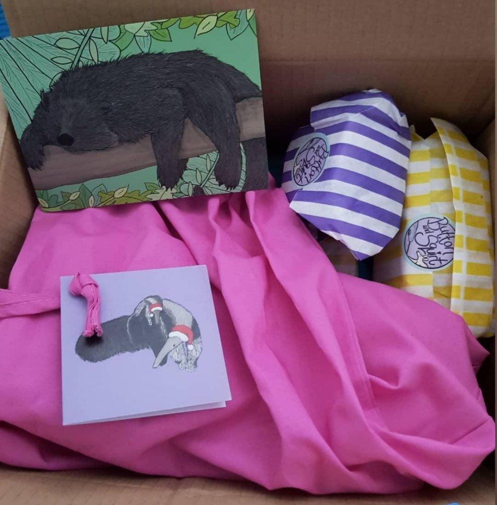 Button & Squirt orders always come beautifully packaged