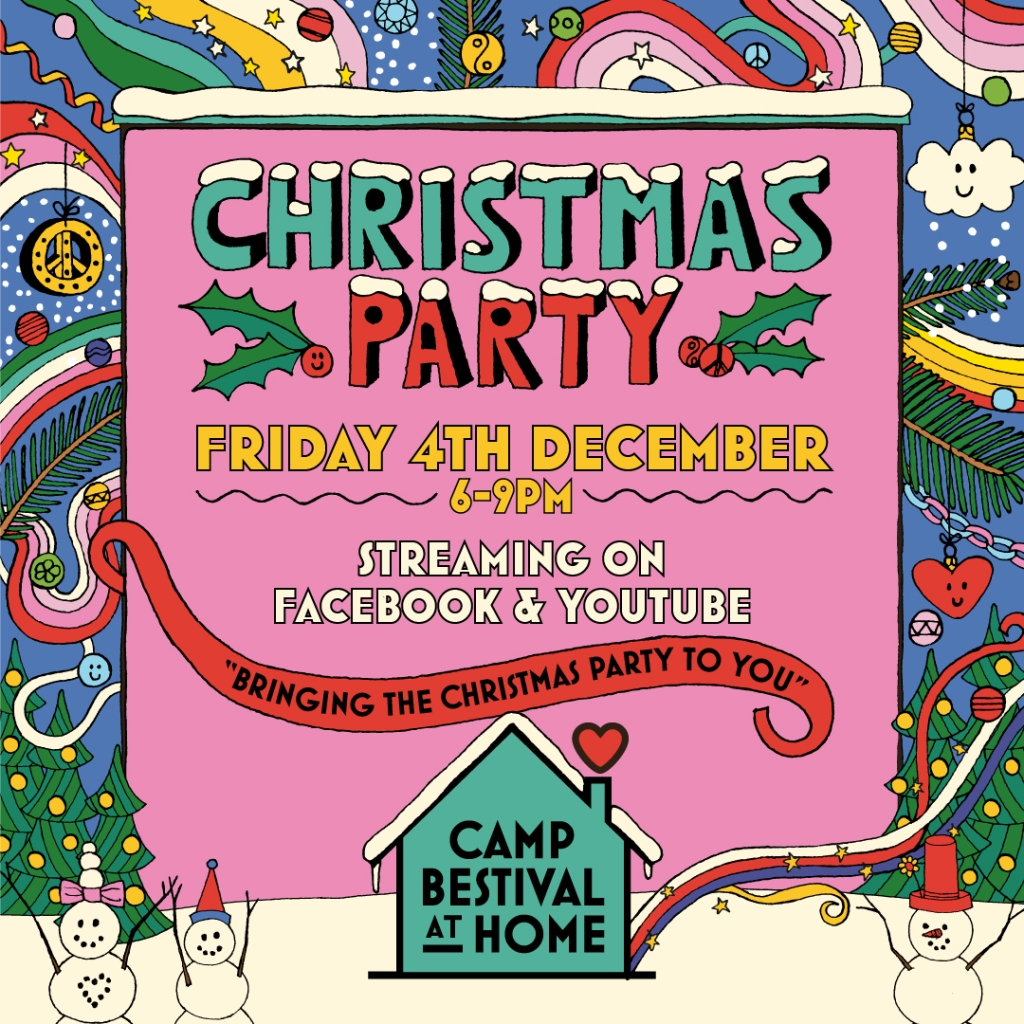 Camp Bestival Christmas Party