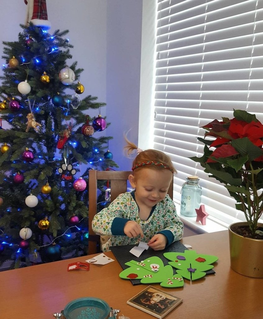 Christmas crafts are always a great activity