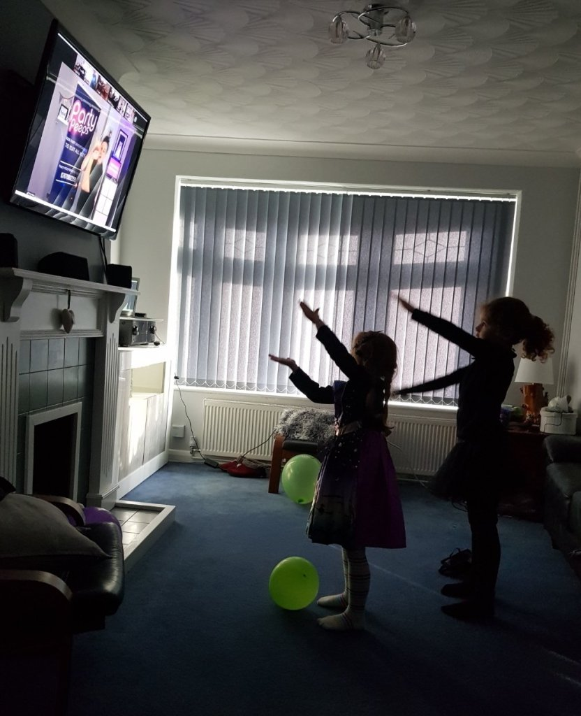 Party Peeps' Virtual Halloween Disco  - check them out for Christmas discos too!