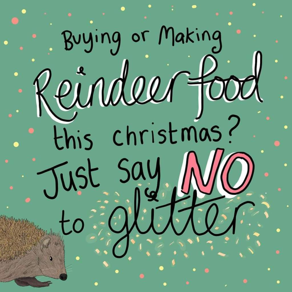 Say no to glitter - illustration: Button & Squirt