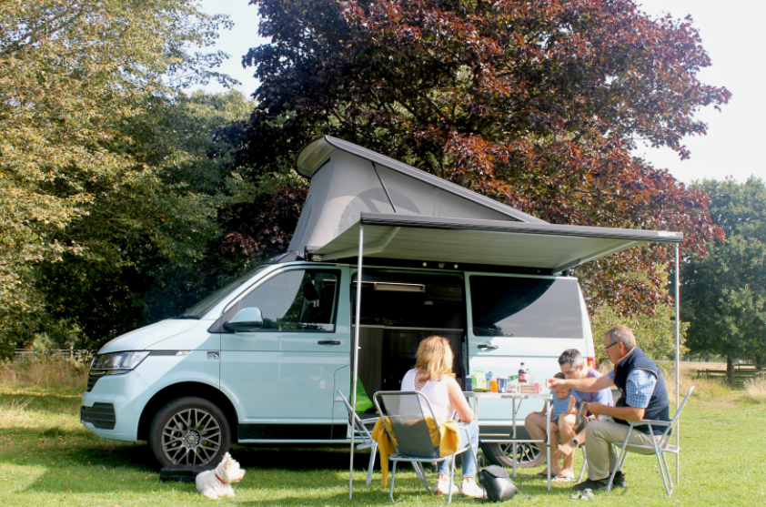 Enjoy the beauty of a VW Campervan with Wilderness Campers