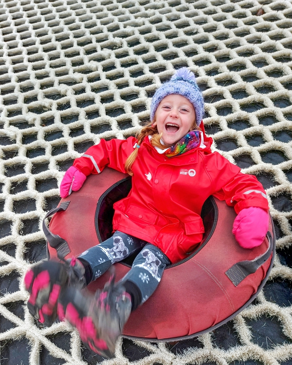 Lily had truly the best day out at Swadlincote Snowsports Centre