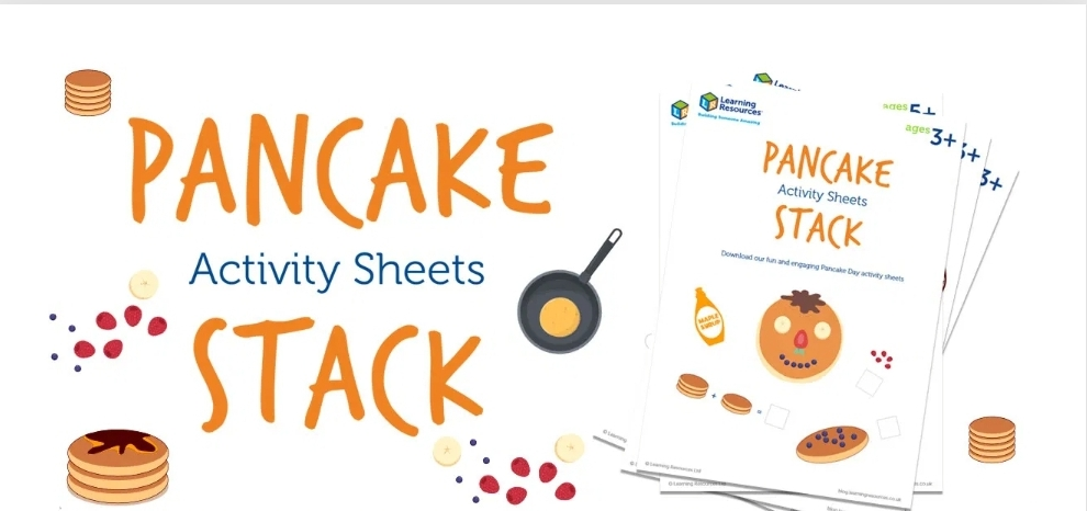 Pancake Day Activities from Learning Resources UK