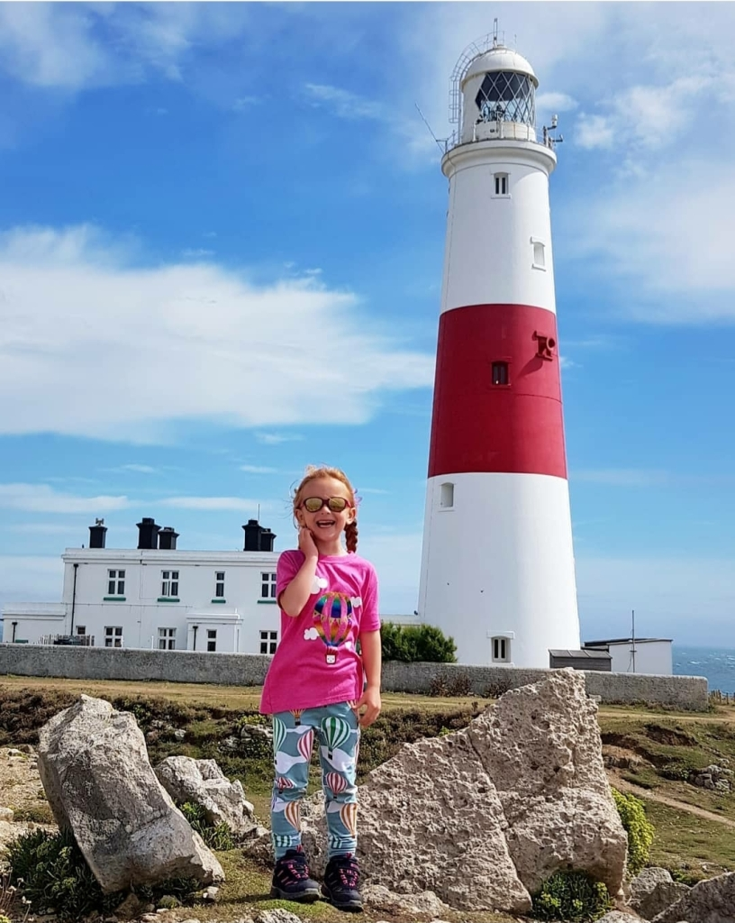 Portland Bill lighthouse - the grounds are free to explore