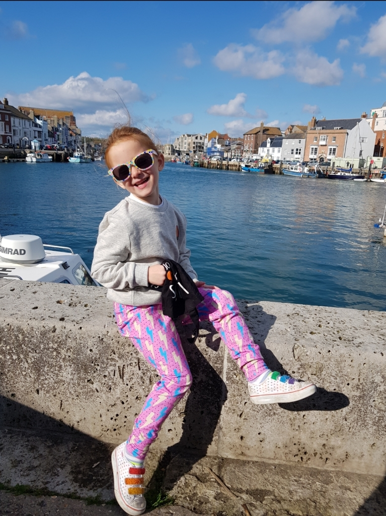 Relaxing at Weymouth Harbour is always one of our favourite things to do