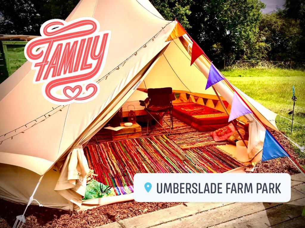 Umberslade Farm Park bell tents