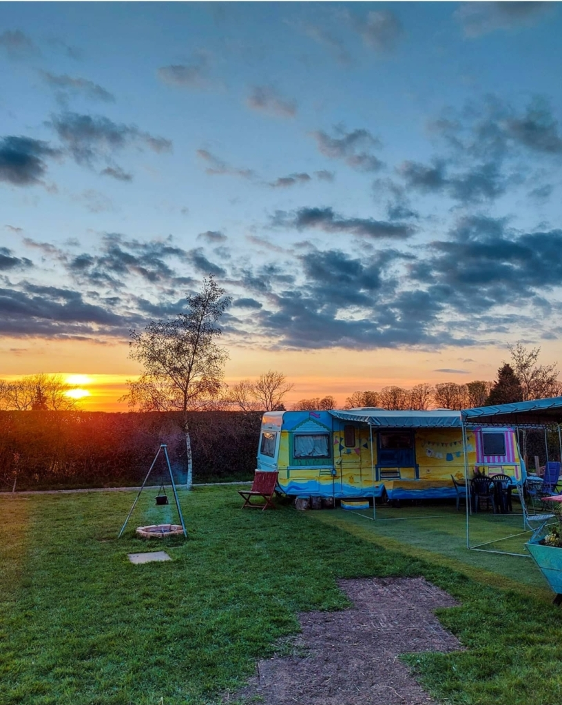 Barlefield Glamping, Leicestershire - get back to basics and enjoy the outdoors.
