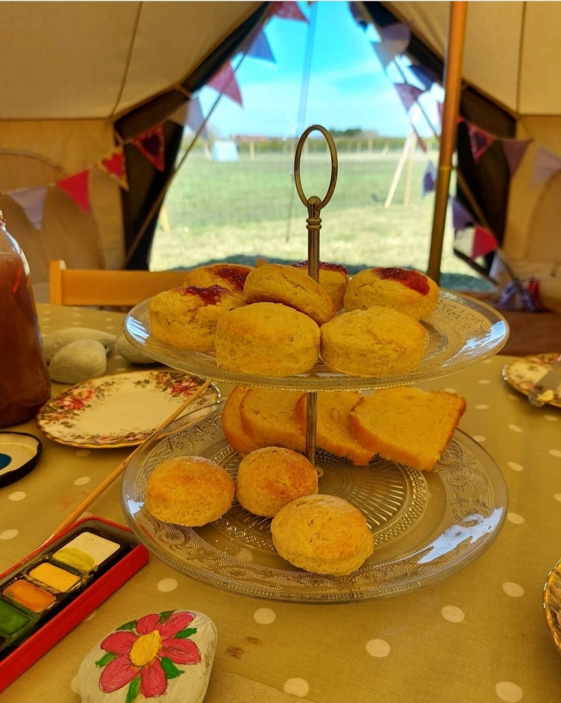Coffee, cake and crafts with stunning views - is there a better combination?!