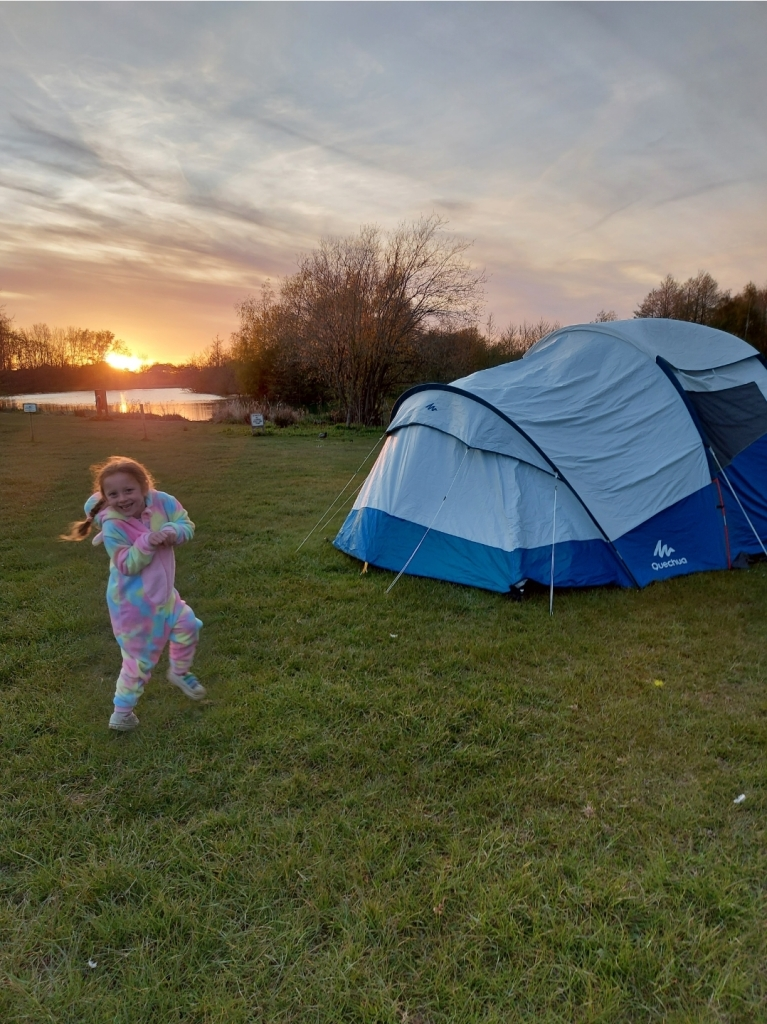 Dancing like a unicorn watching the sunset and waiting for the stars! (Wearing KidsOnesies)
