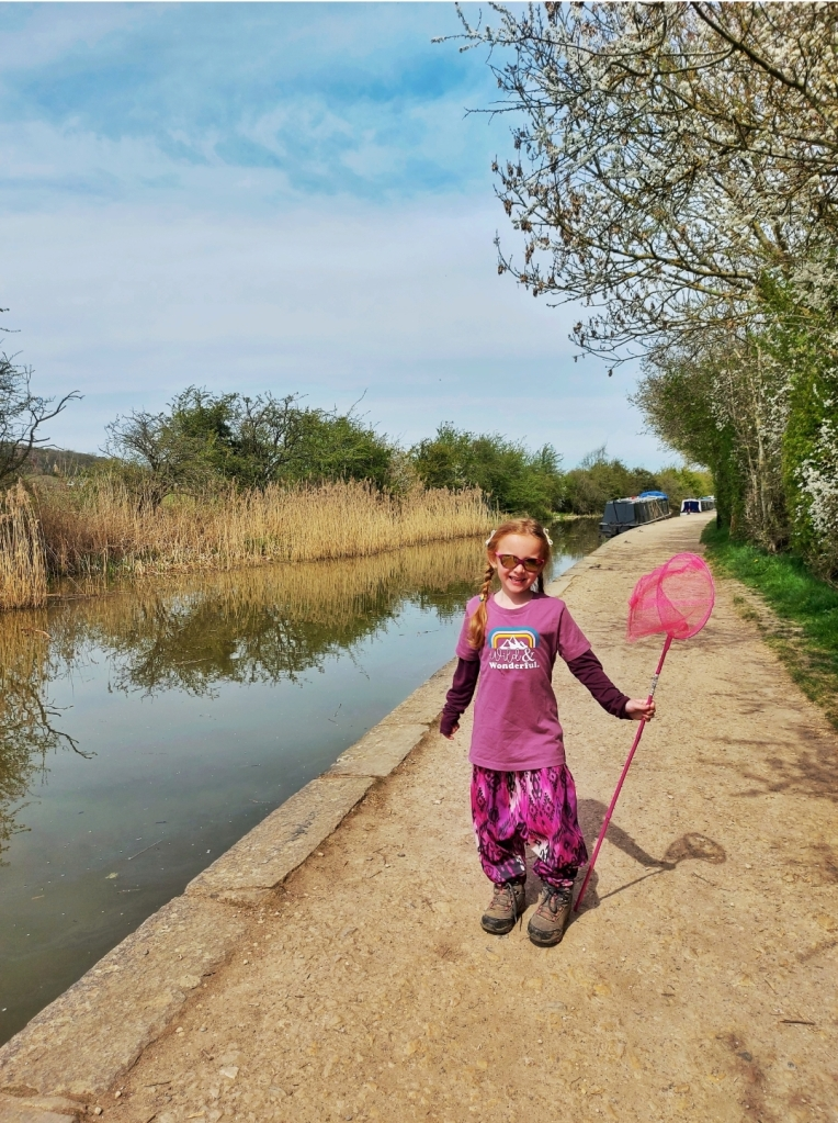 Lily loved walking along the canals