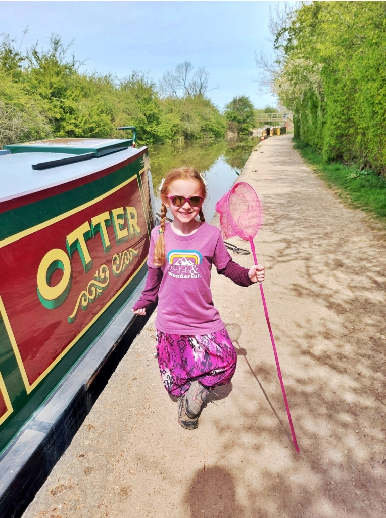 Foxton Locks is such a special and unique place to explore - the canal boats were so beautiful too