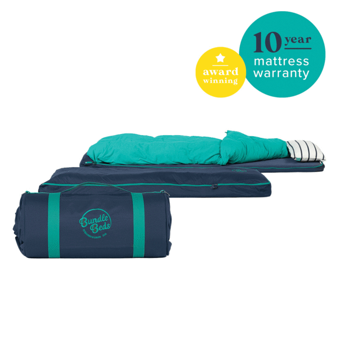 The award-winning Bundle Bed is great for kids and adults alike