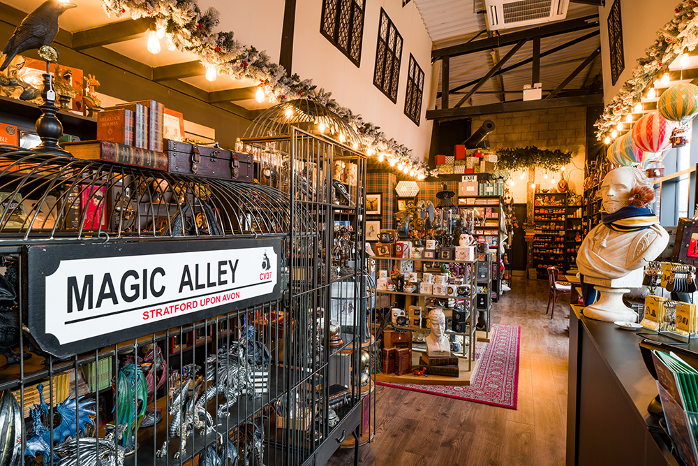 Visit Magic Alley in Stratford for a truly magical half term with a difference.