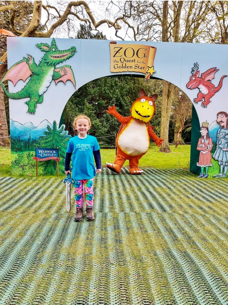 Meet & Greet with Zog at Warwick Castle