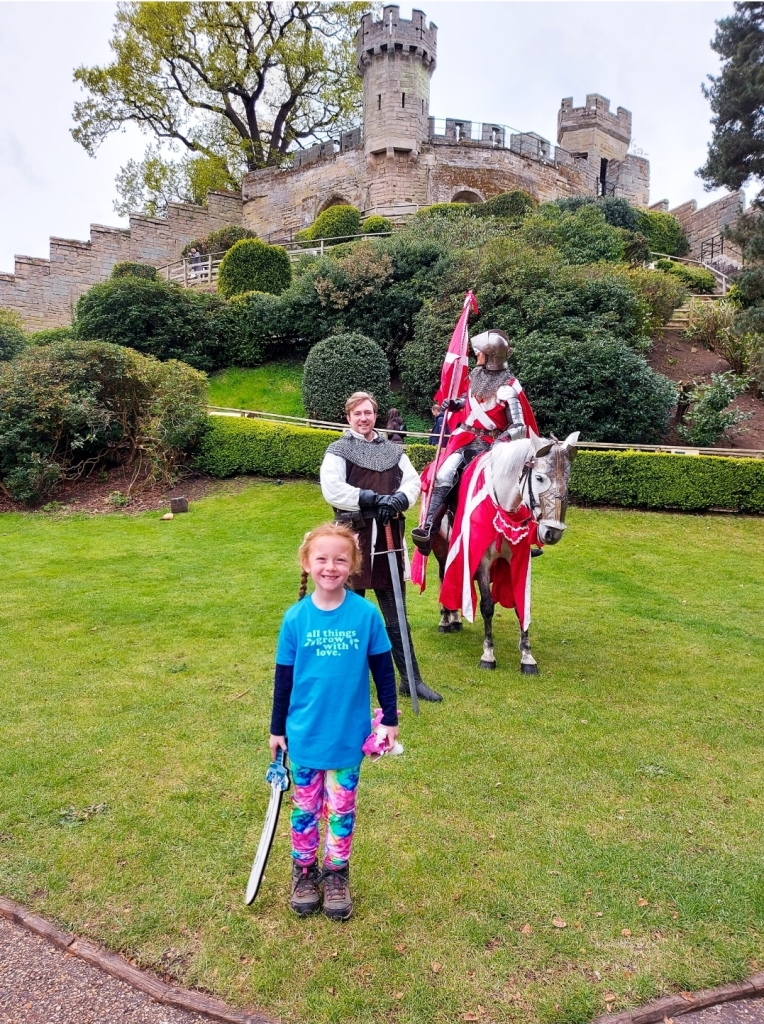 Warwick Castle is a great place to immerse yourself in history