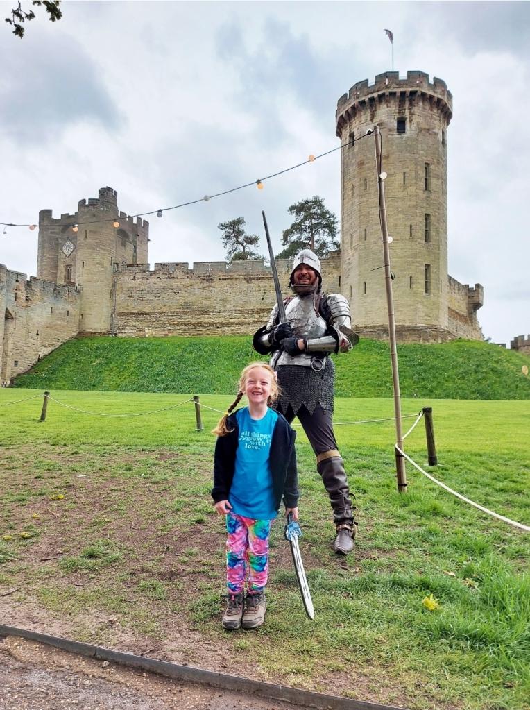 Fun at Warwick Castle