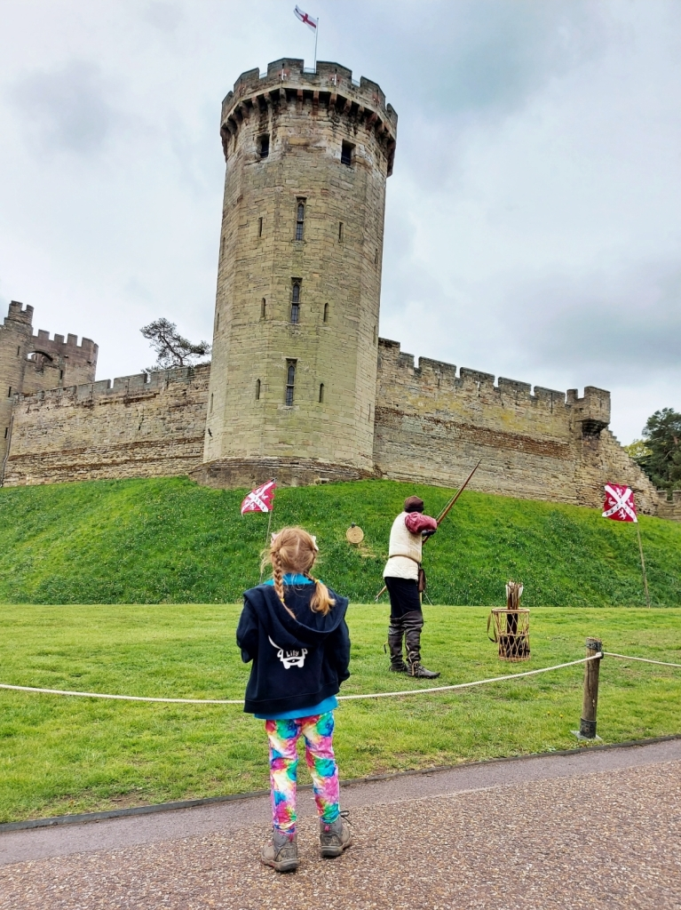 Thank you to all the staff at Warwick Castle for a fantastic day
