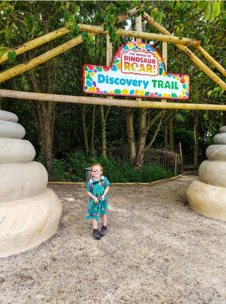 The World of Dinosaur Roar! Discovery Trail at Manor Farm Park & Woodlands