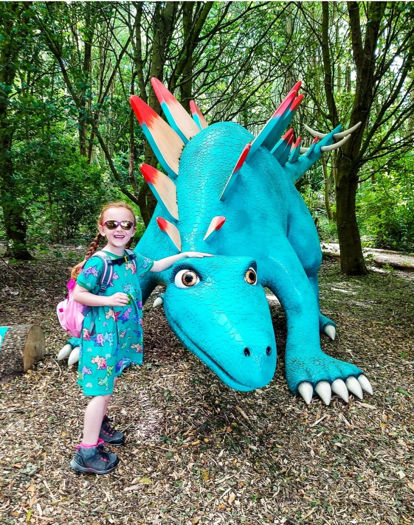Lily loved all the dinosaurs on the trail - included in your entry fee