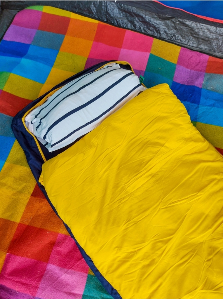 The Bundle Bed will be coming on many, many adventures with us - it was so easy!