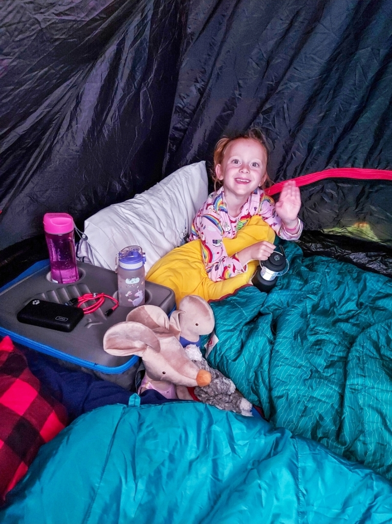 A great night's sleep in the Bundle Bed - we used the extra Bestie Blanket, however she kicked that off in the night and was fine in just the Bundle Bed duvet!