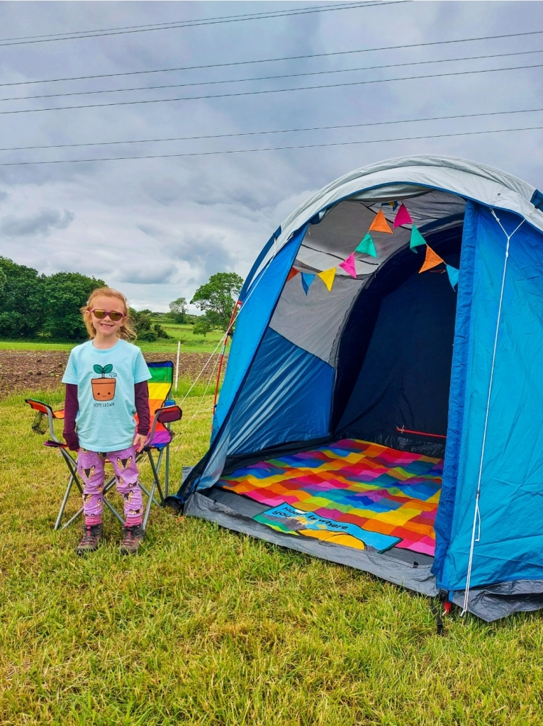 Camping weekend at Bluebell Dairy