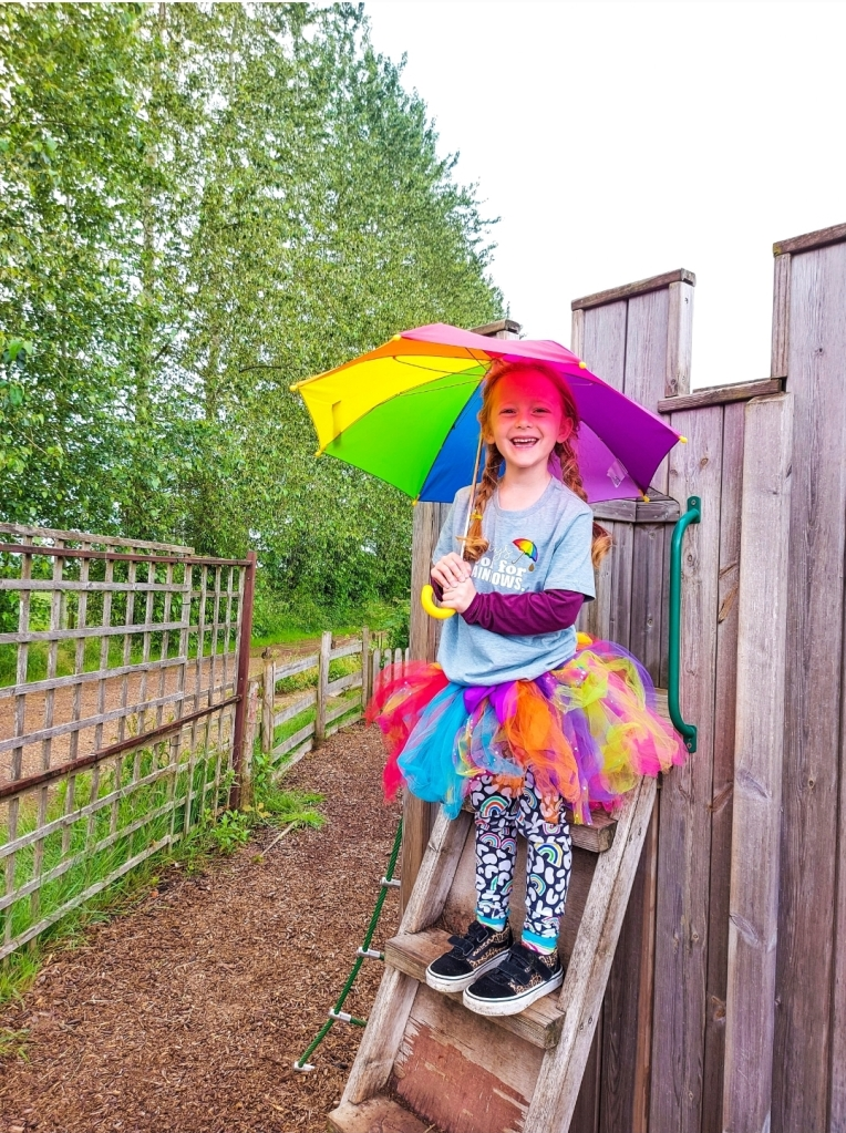 Lily was so excited to have her birthday party at West Lodge Farm Park