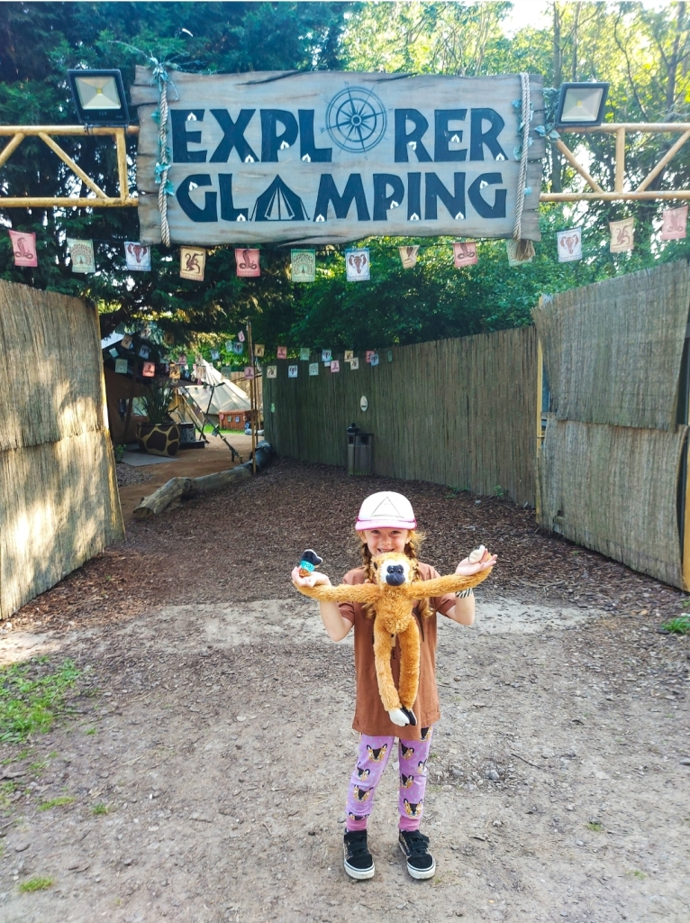 Explorer Glamping at Chessington World of Adventures