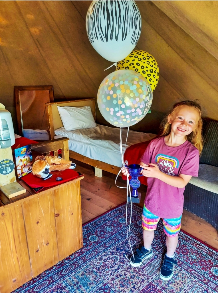 The VIP birthday upgrade package - such a fun welcome for her birthday