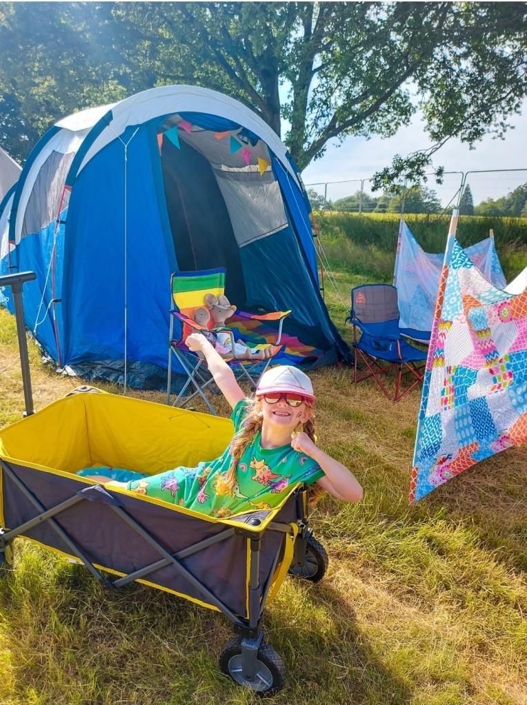 We do love a festival campsite