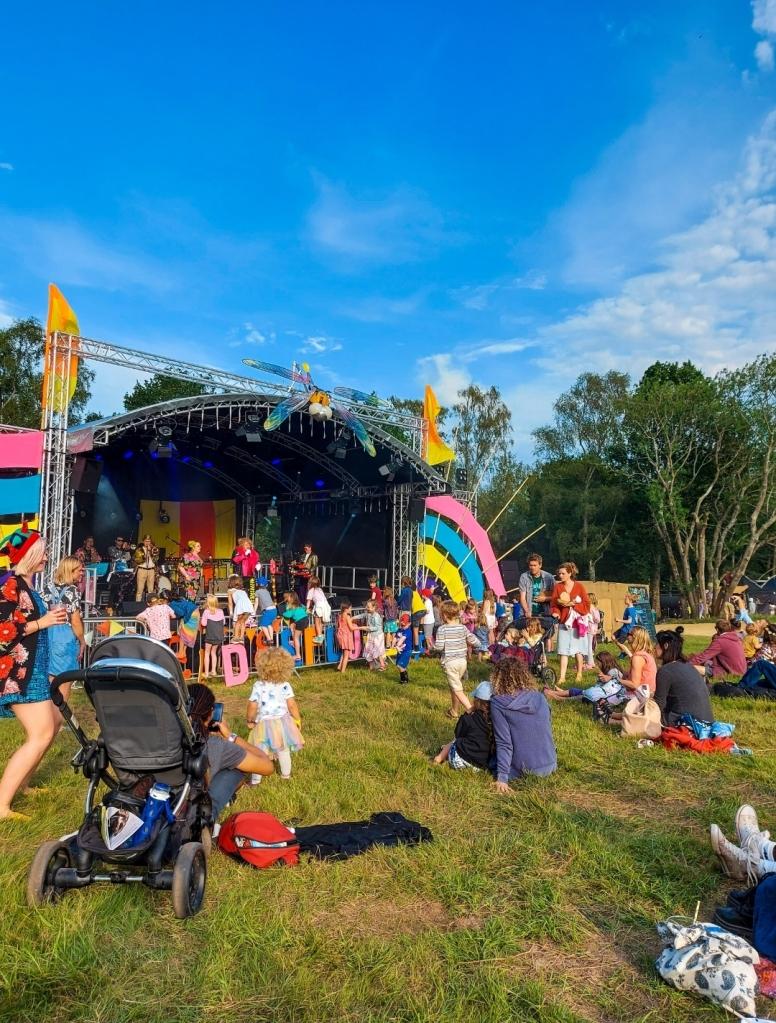 The music was fantastic fun at Elderflower Fields