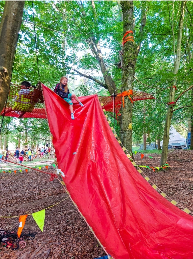 The free sessions were a great way to have fun and build confidence while exploring the trees