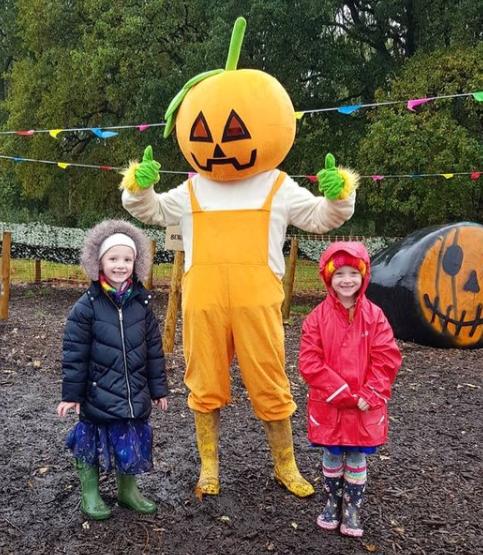 Pumpkin fun at Bluebell Dairy