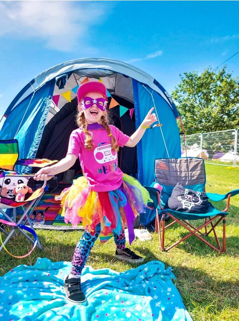 Campsite fun at Camp Bestival