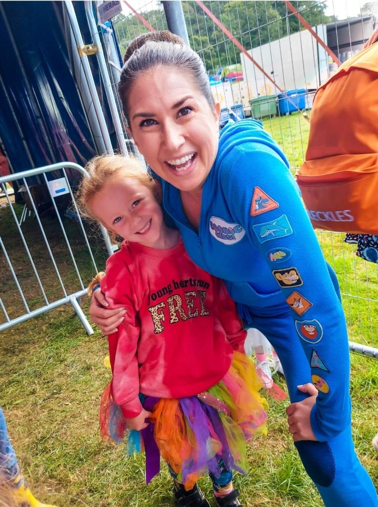 Meeting Jaimie from Cosmic Kids Yoga
