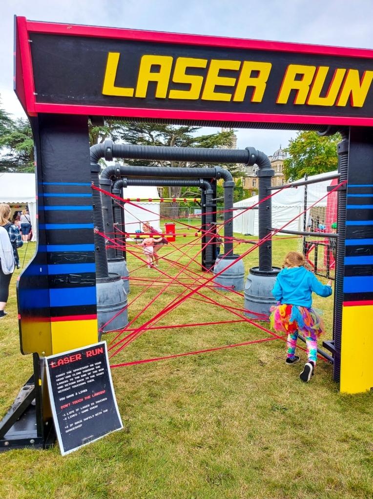 Making it through the Laser Run
