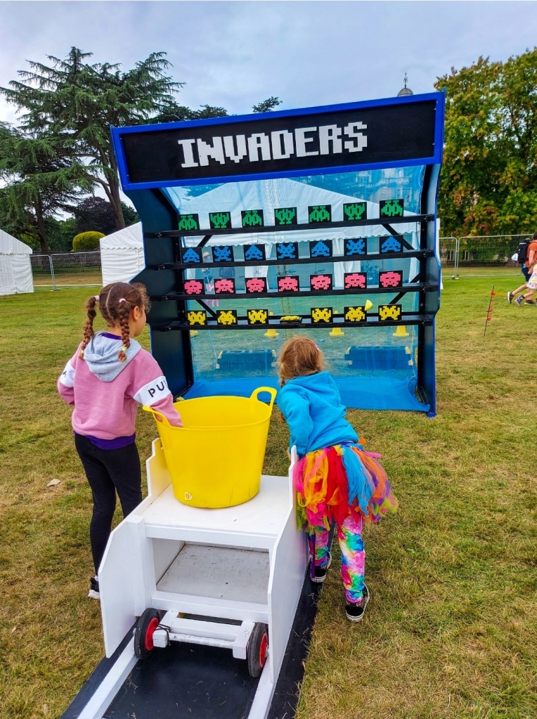 Real life Space Invaders