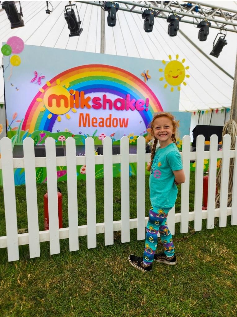 Lily loved Milkshake Meadow