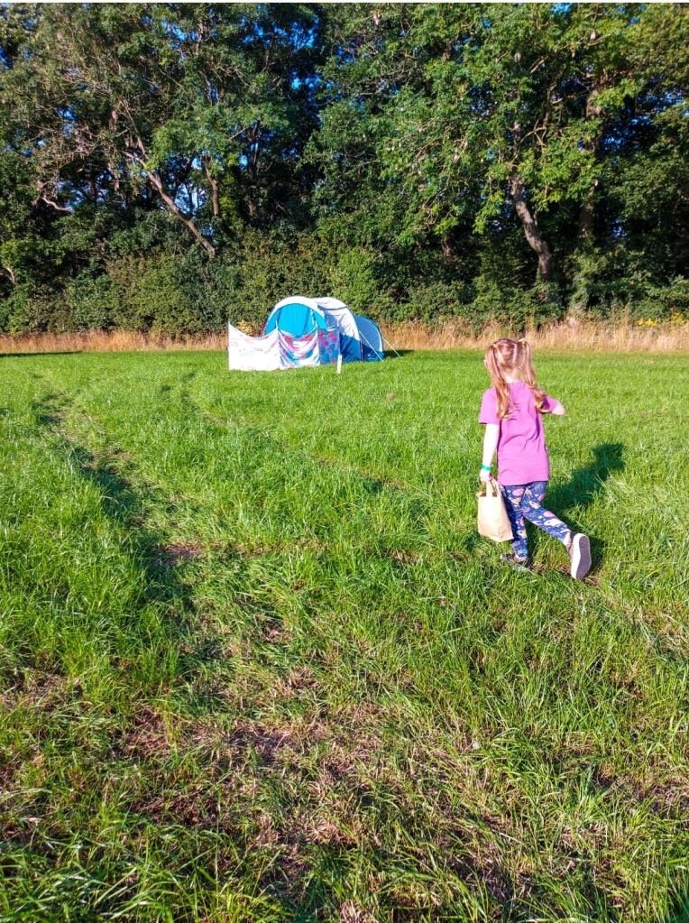 We loved how spaced out the campsite was