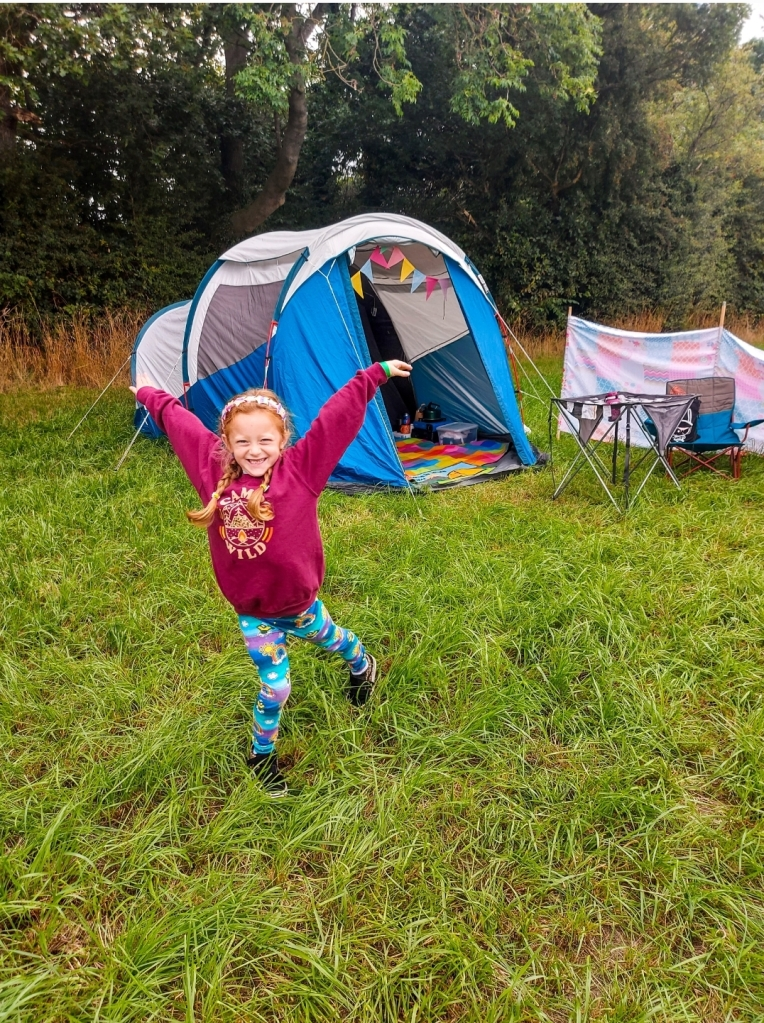 We had great fun at Spring Wood Pop Up Campsite