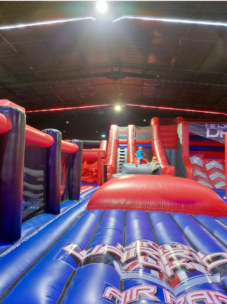 The Air Park is huge and great for all ages - and adults too!