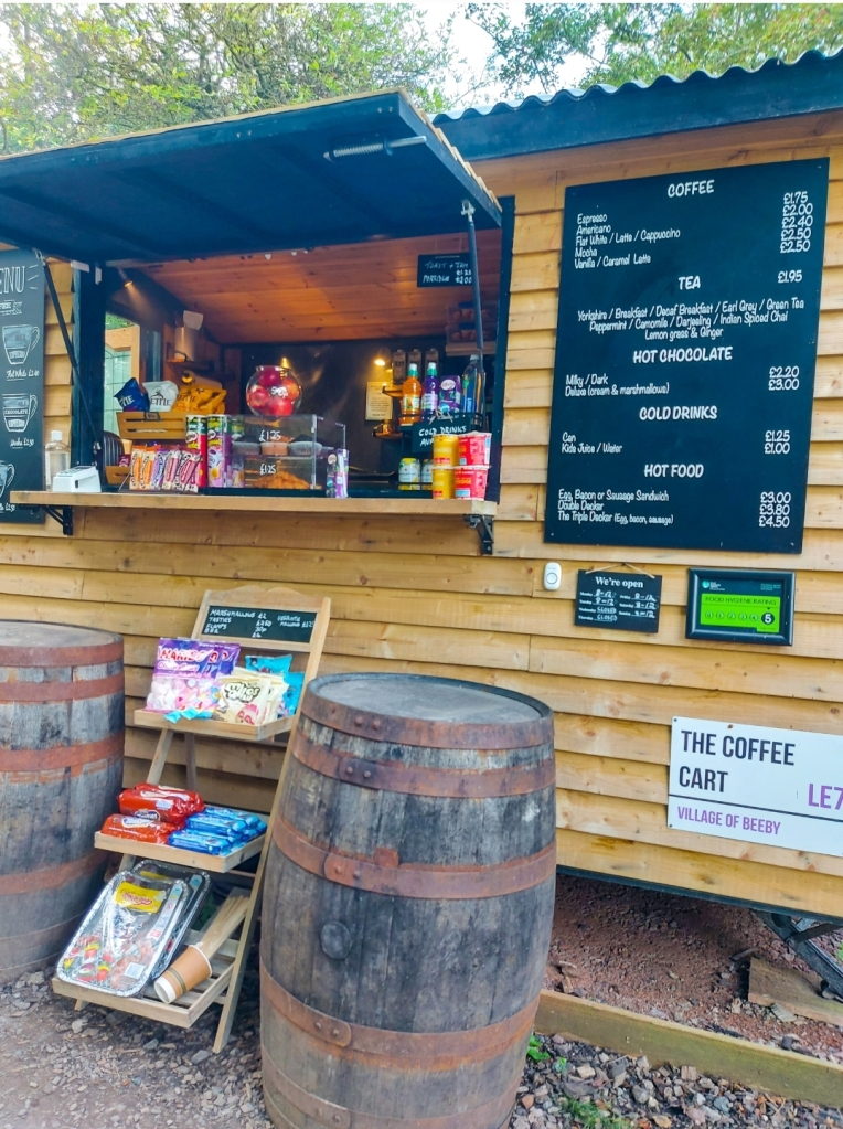 The Coffee Cart - definite a highlight for mummy!