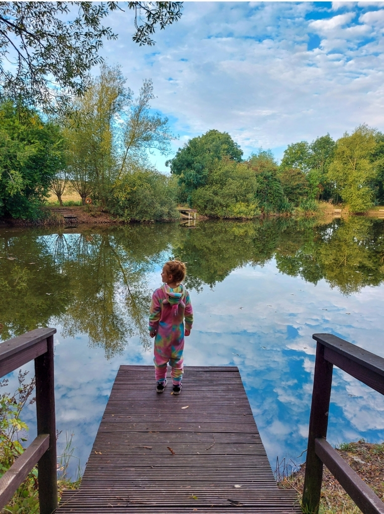 Purple Badger has two stunning fishing lakes - it is just so peaceful