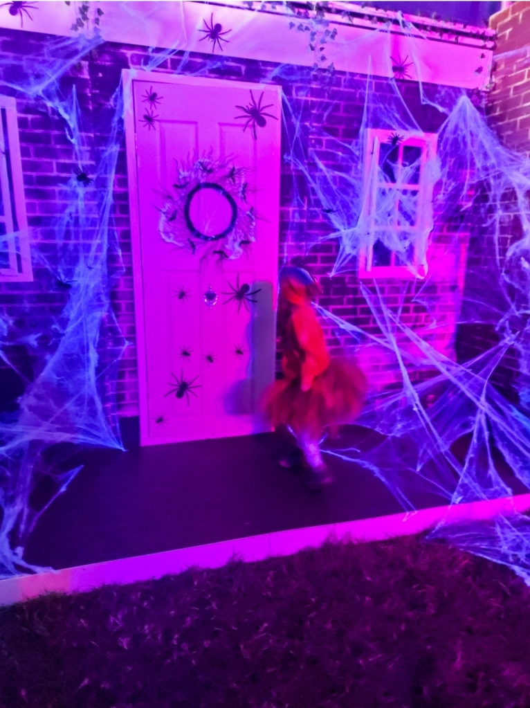 Trick or Treat Street where you knock on the doors of the houses