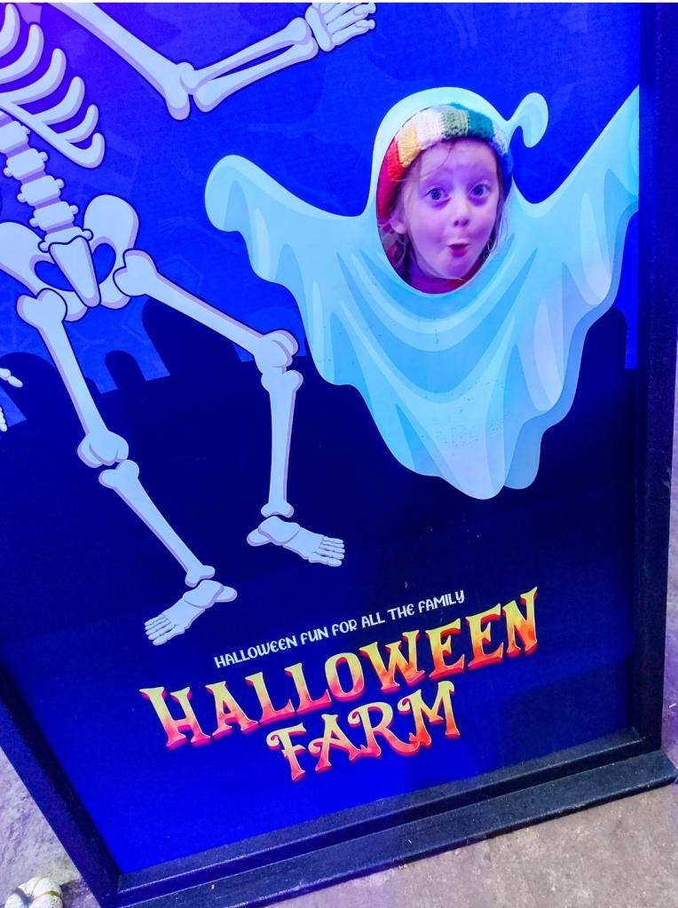 So many photo spots at Halloween Farm!